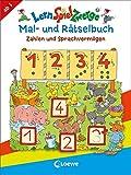 LernSpielZwerge Mal- und Rätselbuch - Zahlen und Sprachvermögen