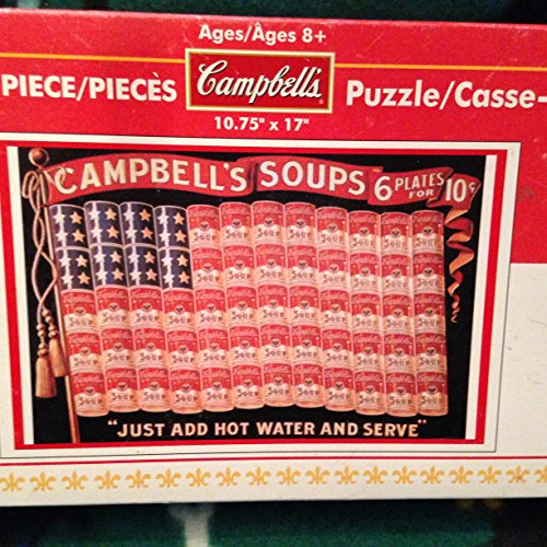 "Campbell's 500 Piece Puzzle ""Just Add Hot Water And Serve"" - 1"