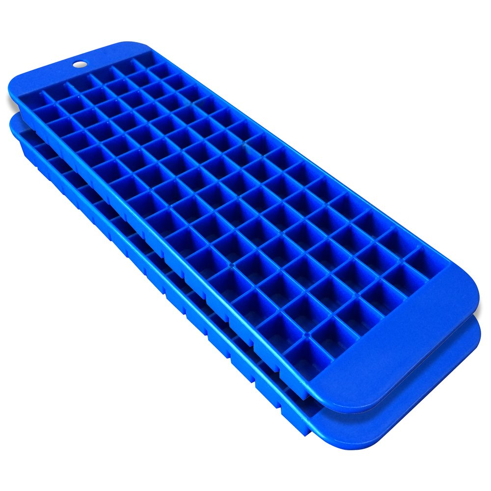cubette mini ice cube trays set of 2 blue blue 1 set ebay. Black Bedroom Furniture Sets. Home Design Ideas