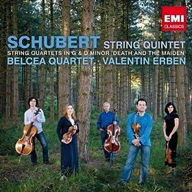 Schubert: String Quintet, Quartet In G, Quartet In D Minor [+Digital Booklet]
