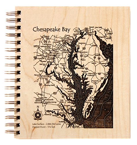 Trinity Lake - 2D Only in Trinity, CA - Journal 9 x 12 IN - Lake Etched Wire-Bound Birch Journal-9?x 8? (Trinity River Ca compare prices)