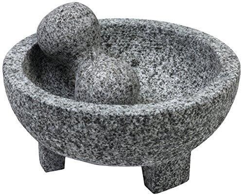 IMUSA USA Granite Molcajete Spice Grinder, 6-Inch, Gray
