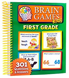 Brain Games for First Grade Kids