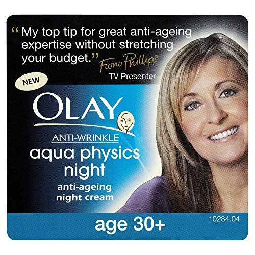 Olay Anti Ageing Night Cream Anti Wrinkle Aqua Physics (50ml) realtime physics