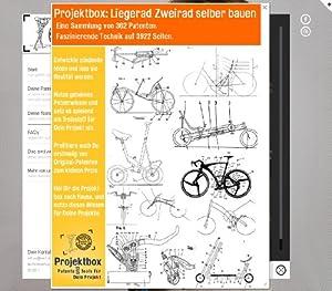 Liegerad Zweirad selber bauen: Deine Projektbox inkl. 362 Original-Patenten bringt Dich mit Spaß ans Ziel!