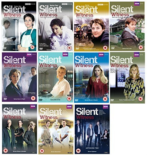 BBC Silent Witness - Complete Series 1, 2, 3, 4, 5, 6, 7, 8, 9, 10, 11, 12, 13, 14, 15, 16, 17 and 18 DVD Collection + Extras by Clare Higgins, John McGlynn, Lesley Dunlop, Trevor Bannister Amanda Burton