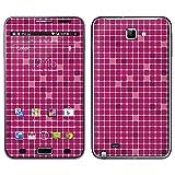 """atFoliX Designfolie """"Rosa Kacheln"""" f�r Samsung Galaxy Note (GT-N7000) - ohne Displayschutzfolievon """"Designfolien@FoliX"""""""
