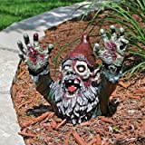Halloween Post-apocalyptic Zombie Gnombie Statue by Design Toscano