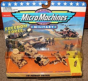 Micro Machines Military Patriot Patrol #10 Collection