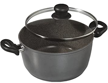Stoneline - The Original Cooking Pot with Glass Lid, 18cm, 2 Ltr at amazon