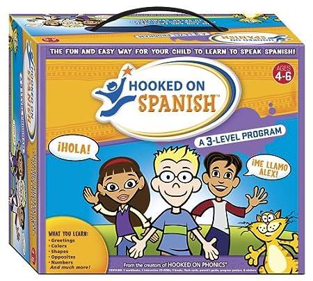 Hooked on Spanish Box Set, Ages 4-6