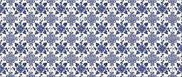 Faux Flooring Delft Floral Runner, 25 by 60-Inch, Multicolor