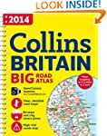 2014 Collins Big Road Atlas Britain (...