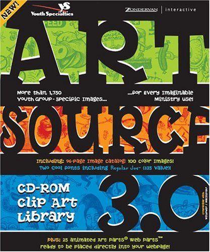 Artsource CD-ROM Clip Art Library 3.0: More Than 1,750 Youth Group-Specific Images for Every Imaginable Ministry Use!