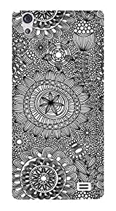 WOW Printed Designer Mobile Case Back Cover For LYF Water 4