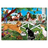 Melissa & Doug Playful Pets Cardboard Jigsaw (30 pc)