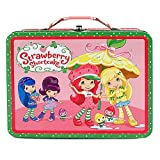 Strawberry Shortcake Tin Lunch Box [Yellow Umbrella]