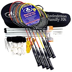 Buy Salaun Badminton Advanced Family Game Kit by Salaun