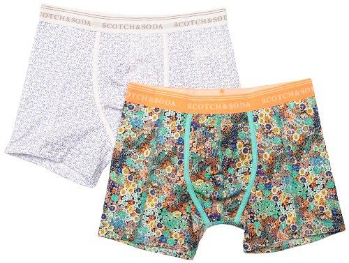 Scotch & Soda Basic Men's Boxer Shorts Dessin E Medium