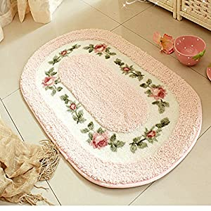 Amazoncom bathroom rugs oval