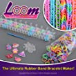 Friendship Loom 600 Band & Loom Jewellery Set with Charms