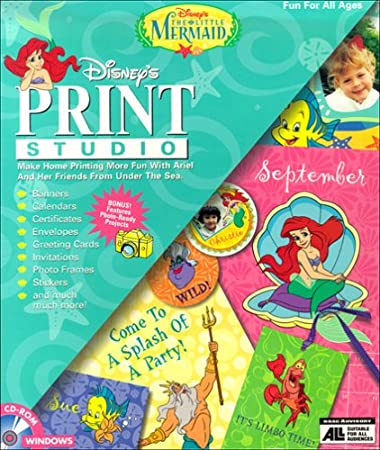 Little Mermaid Print Studio