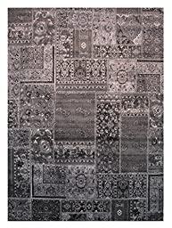 LA Rug URBAN Multi Grey Tone Area Rug (2 by 4 Foot) 405-90