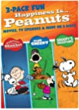 Happiness is... Peanuts (TM): 3 Pack of Fun