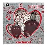 Cacharel Amor Gift Set, 3.4 Fluid Ounce