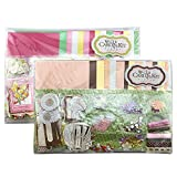 Super DIY Handmade Greeting Card Kit, Includes 12 Cards, 12 Envelopes and A Varirty of Embellishments (30-B)