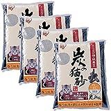 アイリスオーヤマ 炭の猫砂 7L×4袋 SNS-70N-140-50
