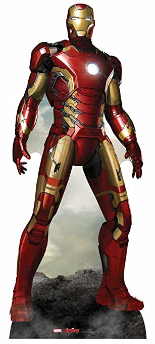 Star Cutouts - Stsc802 - Figurine Géante - Ironman - Avengers - 193Cm