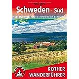 Schweden Süd und Mitte. Rother Wanderführer.