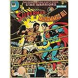 Tallenge - Vintage Comic Cover - Muhammad Ali Vs Superman - Premium Quality A3 Size Unframed Poster
