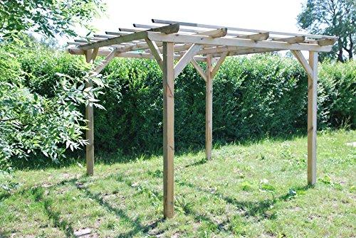 TerrassenUberdachung Holz Gebraucht ~ Henley Holzpavillon Überdachung aus Fichtenholz sehr günstig