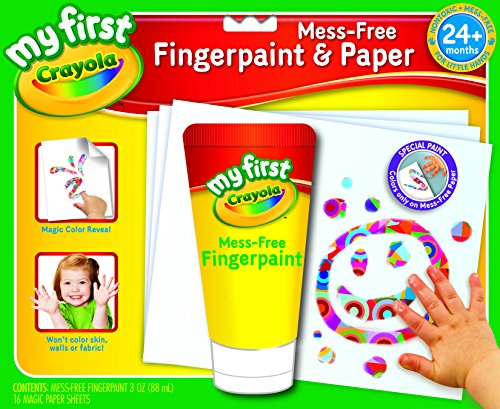 Crayola My First Crayola No Mess Finger-Painting Set - 1