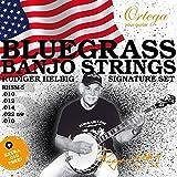 Ortega-RHSM 5 Bluegrass-Jeu de 5 cordes pour Banjo