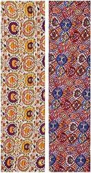 Lavanya Design Studio Women's Rayon Unstitched Kurti Fabric