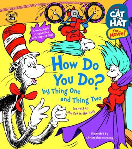 The Cat In The Hat: How Do You Do? By Thing One And Thing Two (Nifty Lift-And-Look) front-1042927