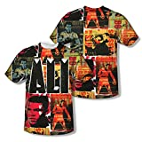 Muhammad Ali Greatest American Boxer Fight Posters Youth 2-Sided Print T-Shirt