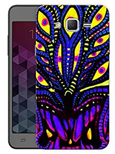 """Humor Gang Trippy Neon Art Printed Designer Mobile Back Cover For """"Samsung Galaxy On5"""" (3D, Matte, Premium Quality Snap On Case)"""