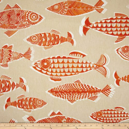 Tommy Bahama Home Fishful Thinking Coral Reef Fabric front-922195