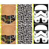 Star Wars Trapper Keeper 2-Pocket Folders by Mead, Assorted Designs, 6 Pack (73493)