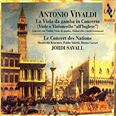 Concerto Con 2 Violini E Viola Da Gamba, Archi E Continuo (Re Minore RV 565): Allegro, Adagio E Spiccato (Vivaldi)
