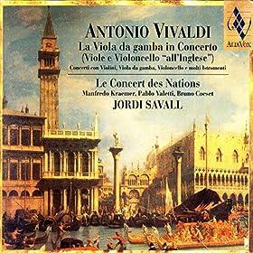 Concerto Con 4 Violini E Violoncello, Archi E Continuo (Si Minore RV 580): Allegro (Vivaldi)