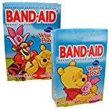Disney's Winnie the Pooh and Friends Children's Band-Aid Brand Adhesive Bandages from Johnson & Johnson - Assorted Sizes