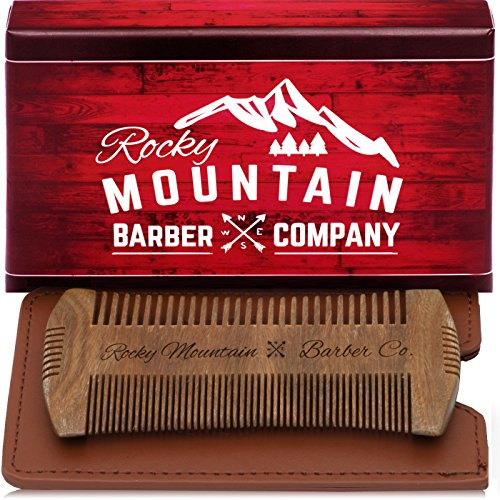 Fine Tooth Contour comb for Beard & Moustache