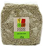 Mintons Good Food Pre-Packed Sunflower Seed Kernels 1 Kg (Pack of 5)