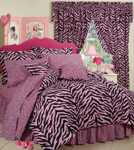 Pink Zebra Bed In A Bag front-446379