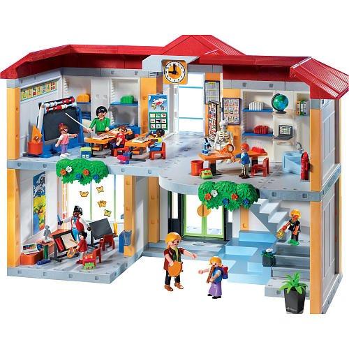Playmobil 5923 Figure Set Furnished School Set Best Buy Action Figures Toys